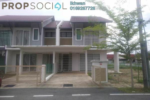 For Sale Terrace at Bukit Desa Semantan, Temerloh Freehold Semi Furnished 4R/3B 425k