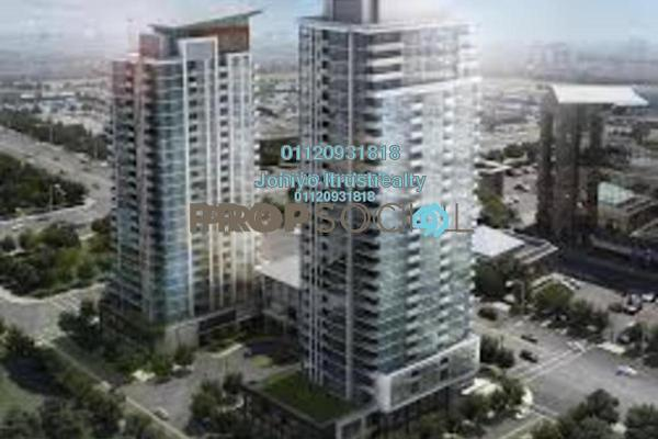 For Sale Condominium at H2O Residences, Ara Damansara Freehold Semi Furnished 1R/1B 388k