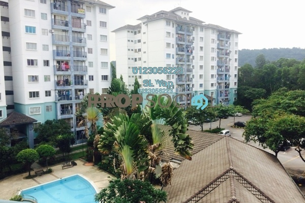 For Sale Apartment at Akasia Apartment, Pusat Bandar Puchong Freehold Unfurnished 3R/2B 330k