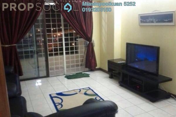 For Rent Condominium at Mentari Condominium, Bandar Sri Permaisuri Freehold Fully Furnished 3R/2B 1.6k