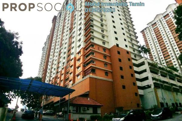 For Sale Apartment at Flora Damansara, Damansara Perdana Freehold Semi Furnished 3R/2B 230k
