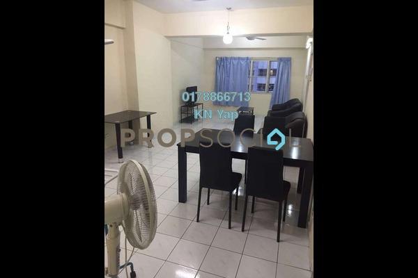 For Rent Condominium at Endah Ria, Sri Petaling Freehold Fully Furnished 3R/2B 1.4k