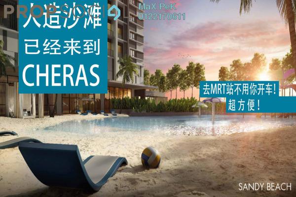 For Sale Condominium at Akasa, Balakong Freehold Semi Furnished 3R/2B 471k