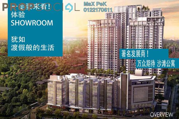 For Sale Condominium at Akasa, Balakong Freehold Semi Furnished 3R/2B 474k