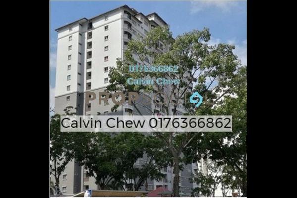 For Sale Condominium at Endah Ria, Sri Petaling Freehold Unfurnished 3R/2B 284k