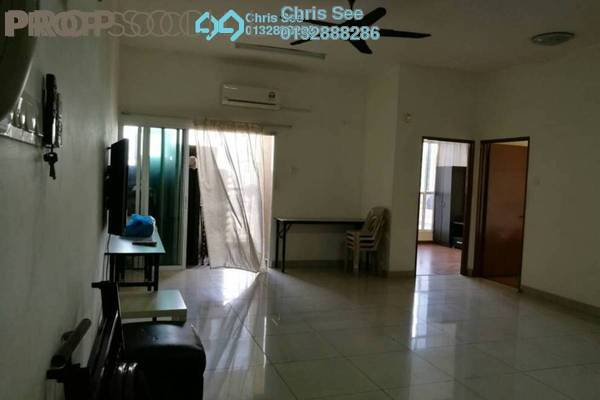 For Rent Condominium at Impian Meridian, UEP Subang Jaya Freehold Semi Furnished 3R/2B 1.6k