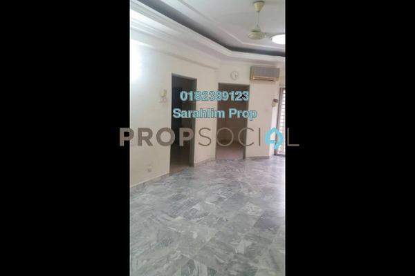For Rent Condominium at Teratai Mewah Condominium, Setapak Freehold Semi Furnished 4R/2B 1.3k
