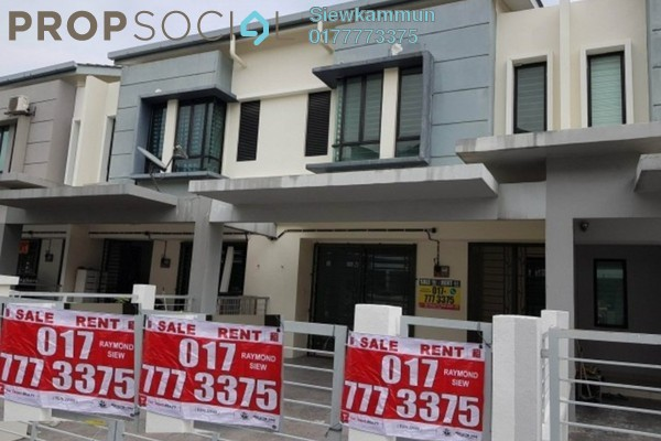 For Rent Terrace at Jalan Sungai Tiram, Ulu Tiram Freehold Unfurnished 4R/3B 1.2k