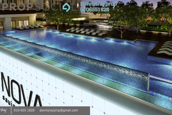 For Rent Condominium at Nova Saujana, Saujana Freehold Semi Furnished 2R/2B 2.7k