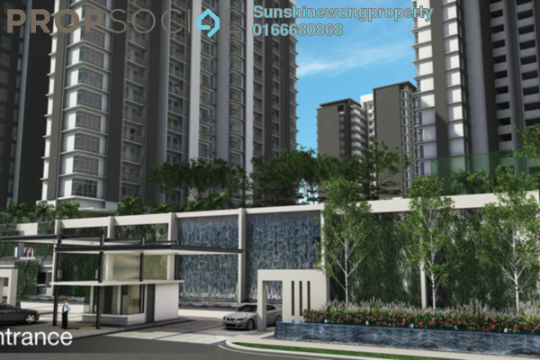 For Rent Condominium at Vina Versatile Homes, Cheras South Freehold Semi Furnished 2R/14B 1.8k