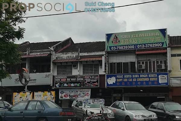 For Rent Shop at Taman Bukit Indah, Old Klang Road Freehold Unfurnished 0R/0B 7.5k