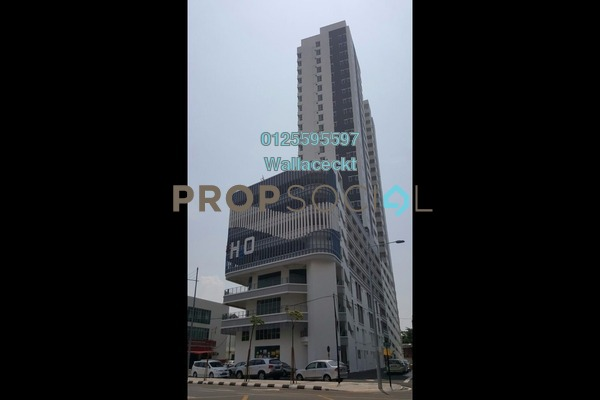 For Sale Condominium at The H2O, Jelutong Freehold Unfurnished 4R/2B 780k