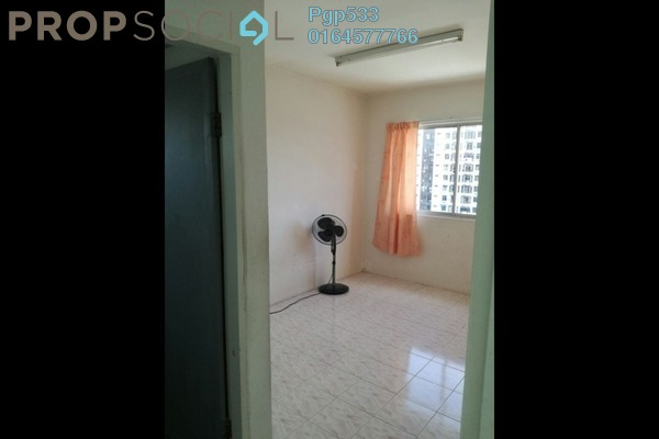 For Rent Apartment at Taman Kristal, Tanjung Tokong Freehold Unfurnished 3R/2B 1k