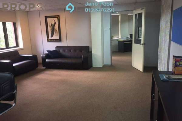 For Rent Office at Kuchai Business Park, Kuchai Lama Freehold Semi Furnished 0R/1B 3.8k