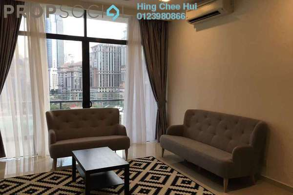 For Sale Condominium at Mirage Residence, KLCC Freehold Semi Furnished 4R/4B 1.6m