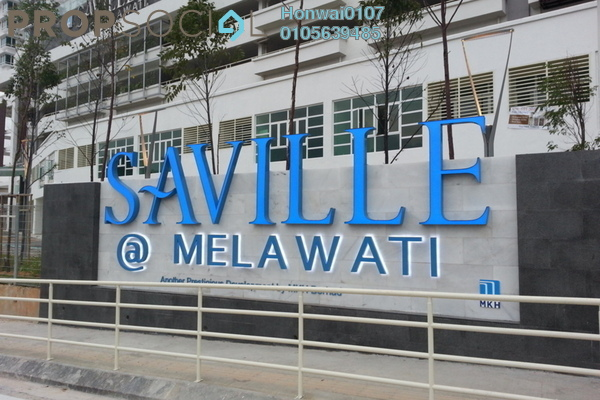For Rent Condominium at Saville, Melawati Freehold Unfurnished 3R/2B 1.6k