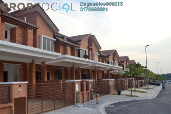 For Sale Terrace at Alam Budiman, Shah Alam Freehold Semi Furnished 4R/4B 550k