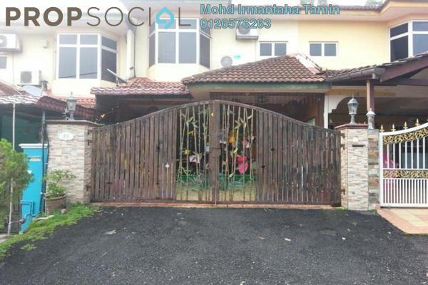 For Sale Terrace at Taman Kajang Perdana, Kajang Freehold Semi Furnished 4R/3B 480k