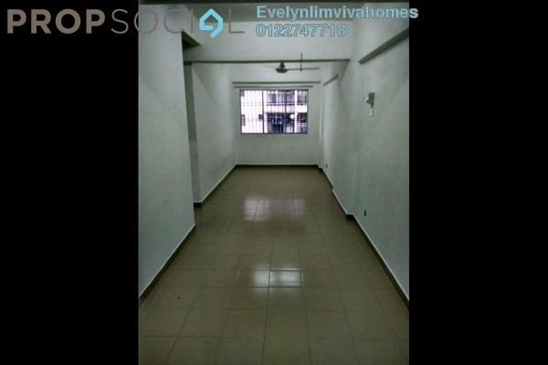 For Rent Apartment at Puncak Desa Apartment, Kepong Freehold Unfurnished 3R/2B 700translationmissing:en.pricing.unit