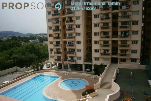 For Sale Condominium at Langat Jaya, Batu 9 Cheras Freehold Fully Furnished 3R/2B 310k