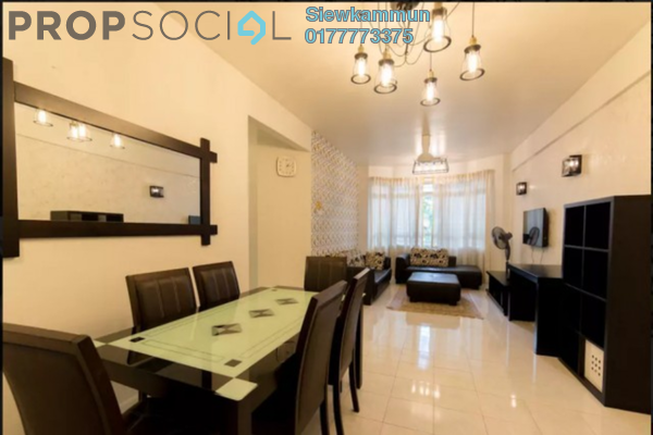 For Rent Apartment at D'Shire Villa, Kota Damansara Freehold Fully Furnished 3R/2B 1.7k
