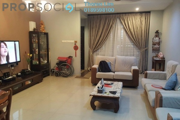 For Sale Terrace at Taman Happy Valley, Farlim Freehold Fully Furnished 4R/3B 1m