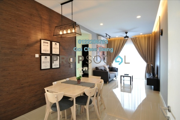 For Rent Serviced Residence at Desa Green Serviced Apartment, Taman Desa Freehold Fully Furnished 3R/2B 2.7k