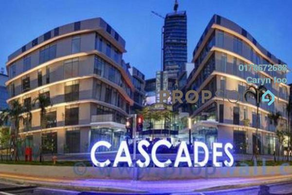 For Rent Condominium at Cascades, Kota Damansara Freehold Semi Furnished 2R/2B 2.6k