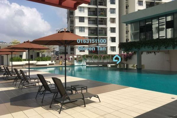 For Rent Condominium at Ivory Residence, Kajang Freehold Semi Furnished 3R/2B 1k