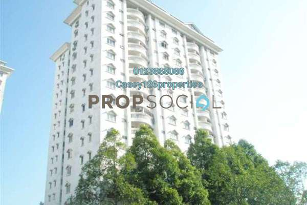 For Rent Condominium at Endah Villa, Sri Petaling Freehold Fully Furnished 3R/2B 1.8k