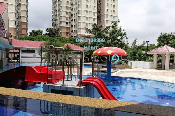 For Sale Condominium at Pertiwi Indah, Cheras Freehold Semi Furnished 3R/2B 500k