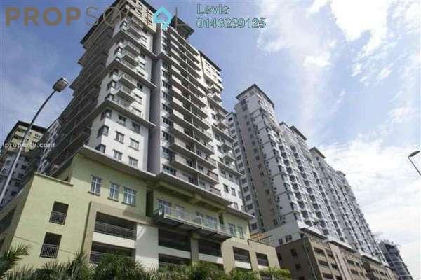 For Rent Condominium at e-Tiara, Subang Jaya Freehold Fully Furnished 3R/2B 1.7k