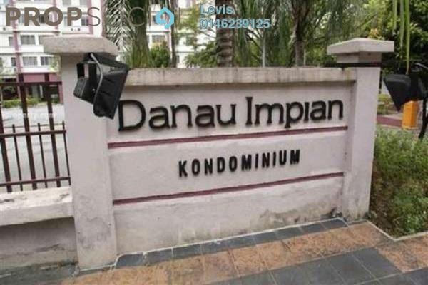 For Rent Condominium at Danau Impian, Taman Desa Freehold Semi Furnished 3R/2B 1.8k