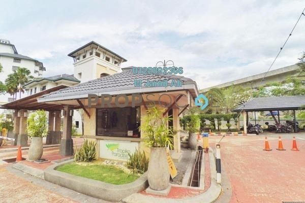 For Sale Condominium at Tropika Paradise, UEP Subang Jaya Freehold Semi Furnished 3R/2B 535k