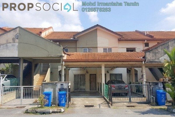 For Sale Townhouse at Puncak Perdana, Shah Alam Freehold Semi Furnished 3R/2B 310k