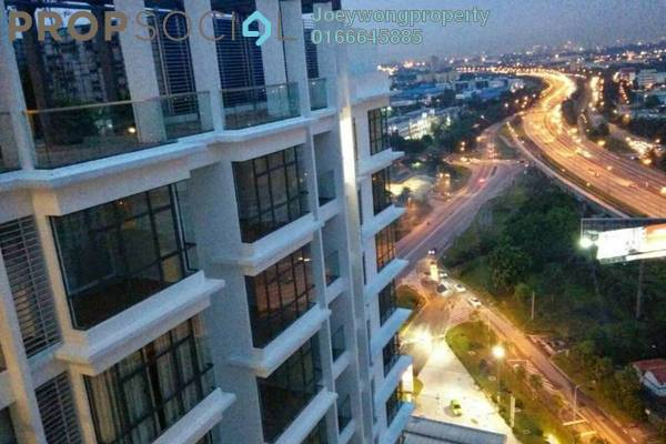 For Sale Condominium at KU Suites, Kemuning Utama Freehold Semi Furnished 3R/2B 580k