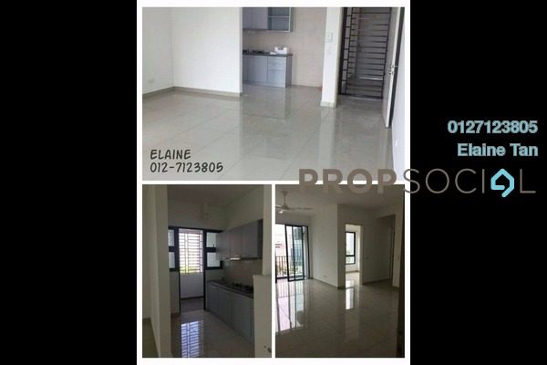 For Rent Serviced Residence at Greenfield Regency, Skudai Freehold Semi Furnished 2R/2B 1.5k