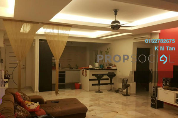 For Sale Condominium at Awana Puri, Cheras Freehold Semi Furnished 3R/2B 423k
