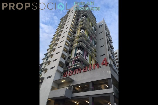For Rent Condominium at The Domain, Cyberjaya Freehold Fully Furnished 1R/2B 1.3k