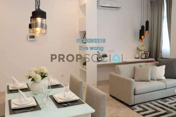 For Rent Condominium at The Manhattan, Bukit Ceylon Freehold Fully Furnished 1R/1B 3.5k