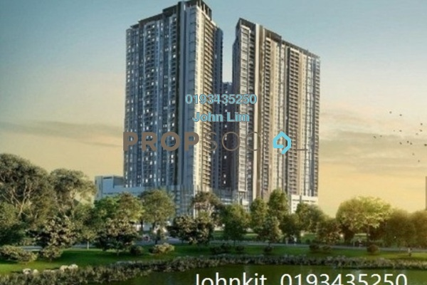 For Sale Condominium at The Henge Residence, Kepong Leasehold Unfurnished 3R/2B 559k