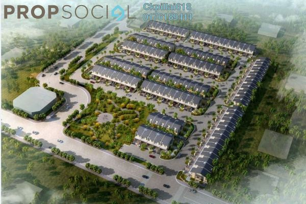 For Sale Terrace at Bandar Tasik Kesuma, Semenyih Freehold Semi Furnished 4R/3B 532k