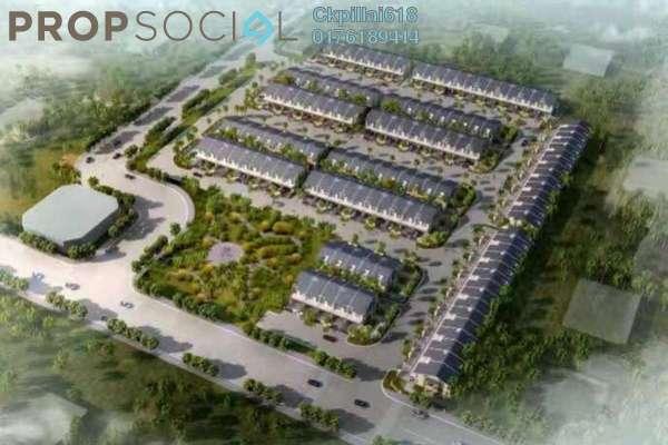 For Sale Terrace at Semenyih Parklands, Semenyih Freehold Semi Furnished 4R/3B 532k