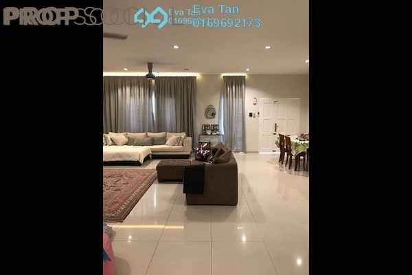 For Sale Terrace at D'Kayangan, Shah Alam Freehold Semi Furnished 5R/5B 1.05m