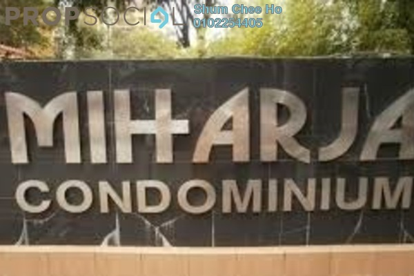 For Rent Condominium at Miharja Condominium, Cheras Leasehold Fully Furnished 3R/2B 2k