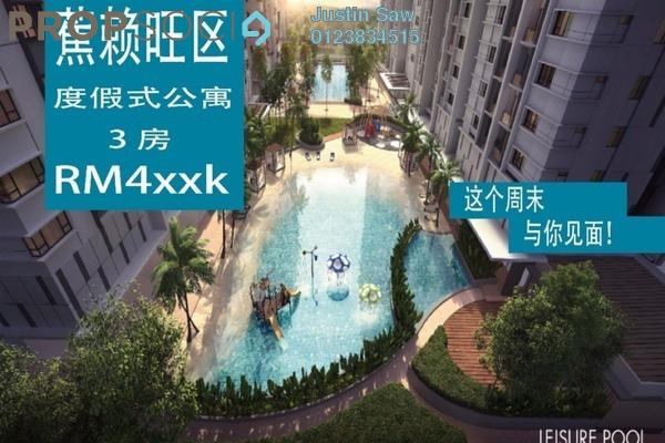 For Sale Condominium at Akasa, Balakong Freehold Semi Furnished 3R/2B 460k