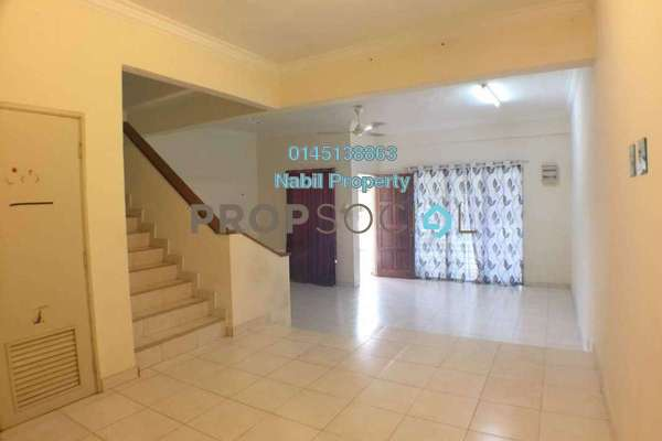 For Sale Terrace at Alam Budiman, Shah Alam Freehold Unfurnished 4R/4B 525k