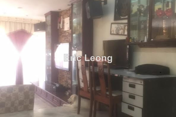 For Sale Terrace at Taman Cantik, Cheras Leasehold Semi Furnished 3R/3B 880k