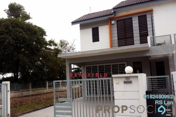 For Sale Terrace at Lakeside Residences, Puchong Freehold Unfurnished 4R/3B 1.5m