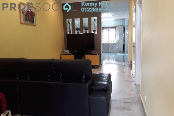 For Sale Terrace at Kasawari , Bandar Puchong Jaya Freehold Semi Furnished 4R/3B 750k